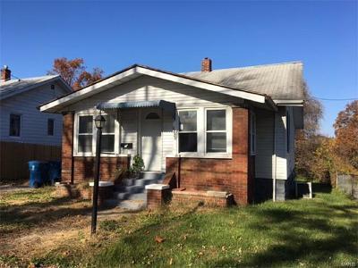 Alton IL Single Family Home For Sale: $32,000