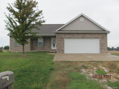 Jerseyville Single Family Home For Sale: 1220 Witt Mill Road
