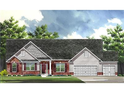 Cottleville Single Family Home For Sale: Build Ozark@patriot's Ridge
