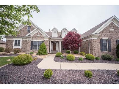 Caseyville Single Family Home For Sale: 518 Niblick Drive
