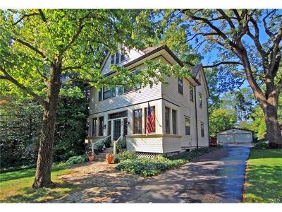 Webster Groves Single Family Home For Sale: 27 South Elm Avenue