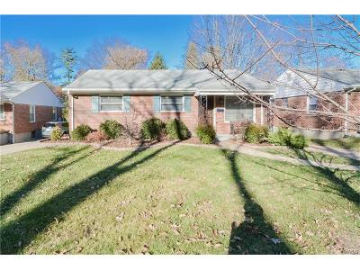 St Louis City County, St Louis County Single Family Home For Sale: 9795 Sherrell Court