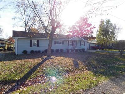Perry Single Family Home For Sale: 510 Walnut Street