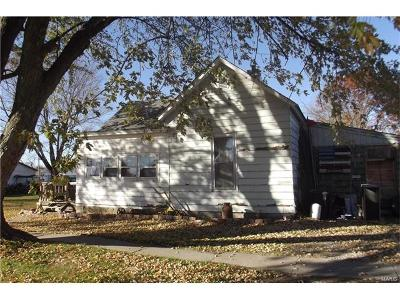 Monroe City MO Single Family Home For Sale: $7,500