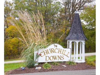 Lincoln County, St Charles County, St Louis City County, St Louis County, Warren County Residential Lots & Land For Sale: Churchill Downs Lot 7