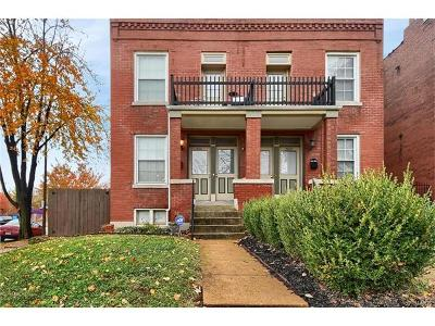 St Louis Single Family Home For Sale: 2100 Allen Avenue