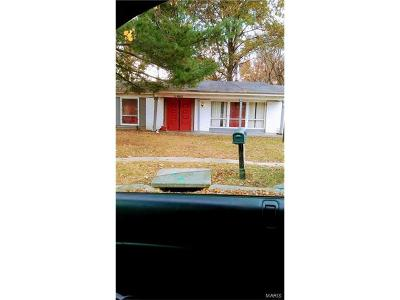St Louis City County, St Louis County Single Family Home For Sale: 11902 Rosevalley Lane