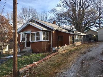 Alton IL Single Family Home For Sale: $10,000