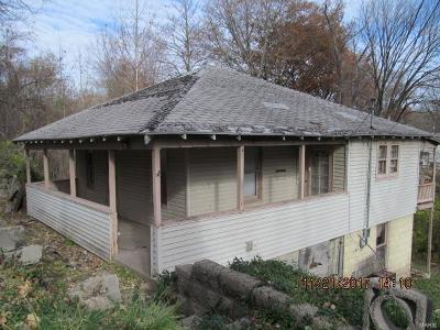 Alton IL Single Family Home For Sale: $12,900