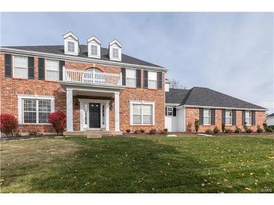 Chesterfield MO Single Family Home For Sale: $589,900