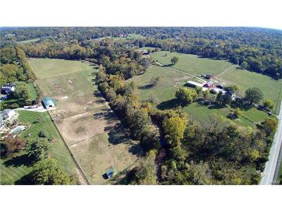 Lincoln County, St Charles County, St Louis City County, St Louis County, Warren County Farm For Sale: 1740 North Geyer Road