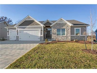 Wentzville New Construction For Sale: 917 Mule Creek Drive