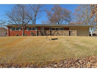 Cape Girardeau County Single Family Home For Sale: 1836 Westridge