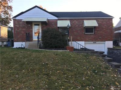 St Louis MO Single Family Home Contingent No Kickout: $94,900