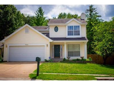 Ballwin Single Family Home For Sale: 700 Ginger Wood Court