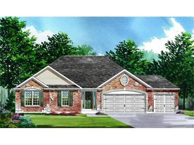 O'Fallon Single Family Home For Sale: Build Aurora@shady Creek