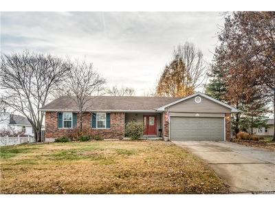 ST CHARLES Single Family Home For Sale: 225 Fort Charles Trail