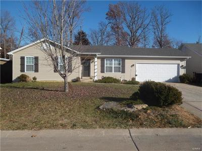 Lincoln County, Warren County Single Family Home Contingent Short Sale: 310 Cuivre Valley