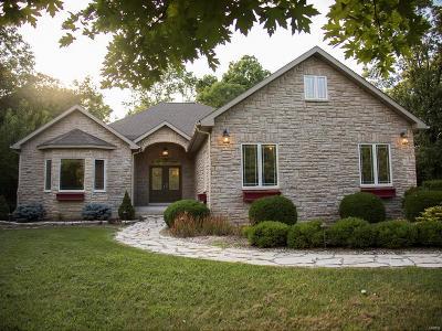 Grafton Single Family Home For Sale: 692 Grafton Hills Drive