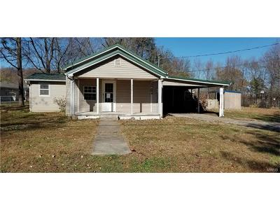 Scott County, Cape Girardeau County, Bollinger County, Perry County Single Family Home For Sale: 308 McKinley West