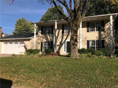 O'Fallon Single Family Home For Sale: 910 Reiss Road