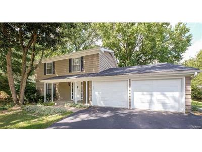 St Louis County Single Family Home For Sale: 195 River Bend Drive