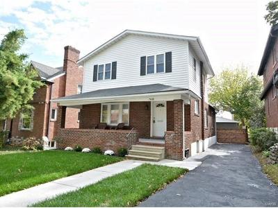 St Louis County Single Family Home For Sale: 7468 Cornell Avenue