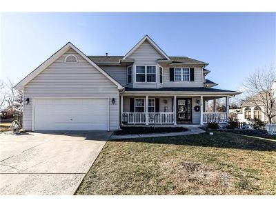 Wentzville Single Family Home For Sale: 710 Spring Meadow Court