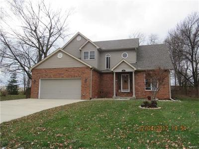 Edwardsville Single Family Home For Sale: 20 Timber Meadows Place