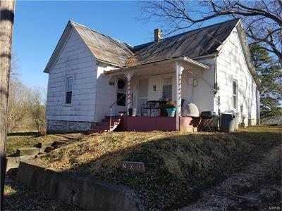 Scott County, Cape Girardeau County, Bollinger County, Perry County Single Family Home For Sale: 508 North Neal Street