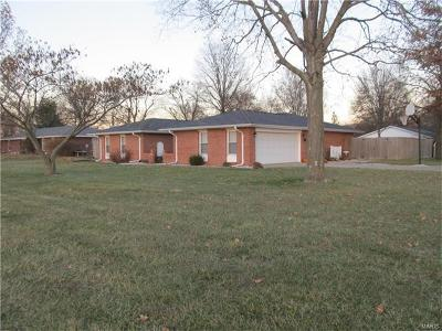 Jerseyville Single Family Home For Sale: 23276 Helen Court