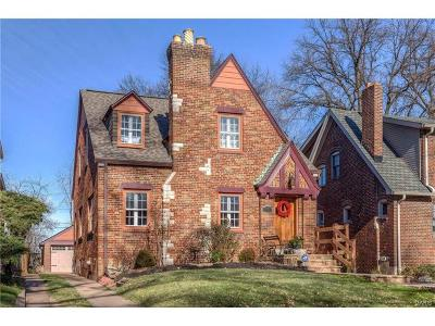 University City Single Family Home For Sale: 7477 Amherst Avenue