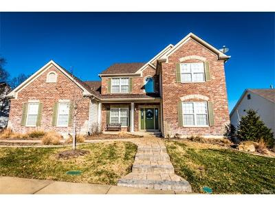St Louis County Single Family Home For Sale: 817 Spring Cove Court