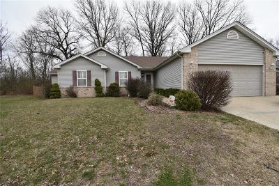 Belleville Single Family Home Contingent w/Kickout: 945 Blue Heron Court