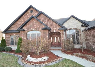 Caseyville Single Family Home For Sale: 522 Niblick Drive