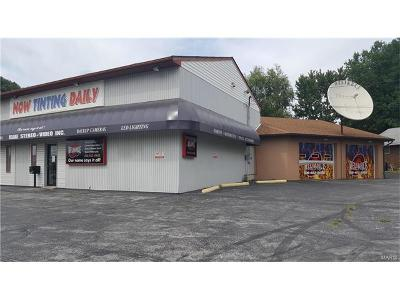 Alton Commercial For Sale: 1301 Milton Road