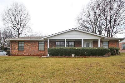Fairview Heights Single Family Home For Sale: 607 Traubel