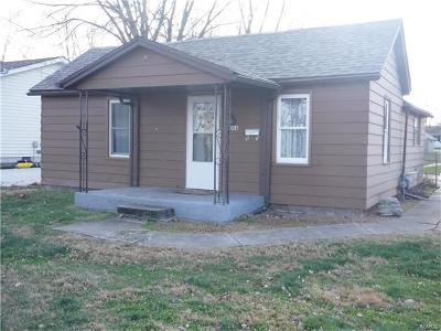 Jerseyville Single Family Home For Sale: 1006 West Pine