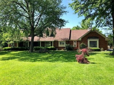 Godfrey Single Family Home For Sale: 3506 Riverview Court