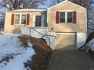 St Louis Single Family Home For Sale: 2998 Walton Road