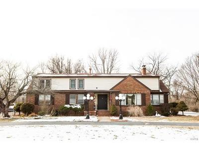 Collinsville Single Family Home For Sale: 809 Saint Clair Avenue