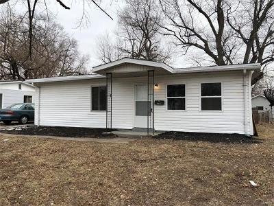 Cahokia IL Single Family Home For Sale: $50,000
