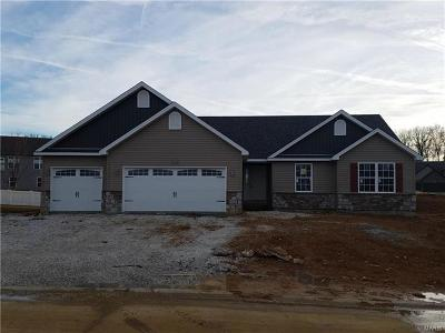 Wentzville Single Family Home For Sale: Lot 555 Stone Ridge Canyon