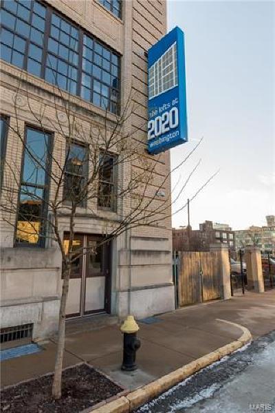 St Louis Condo/Townhouse For Sale: 2020 Washington Avenue #606