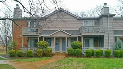 St Louis Condo/Townhouse For Sale: 1554 East Swan Circle