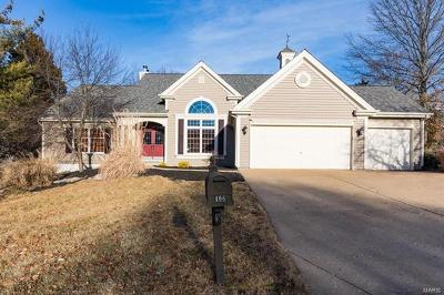 Ellisville Single Family Home For Sale: 408 Bluff Meadow Court
