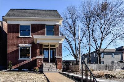 St Louis Single Family Home For Sale: 2720 Indiana Avenue
