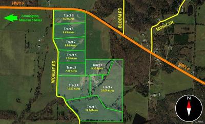 Farmington Farm For Sale: Tract 4 Worley Rd