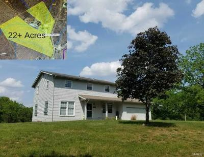 Pacific MO Single Family Home For Sale: $450,000