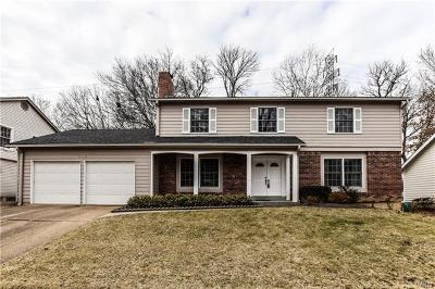 Chesterfield Single Family Home Contingent No Kickout: 15471 Long Castle Forest